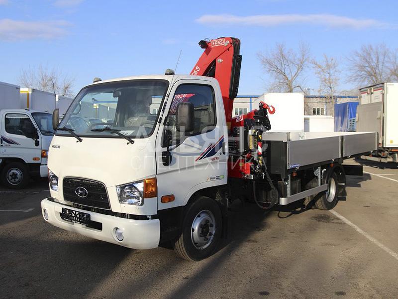 Манипулятор Hyundai Fassi F50B.0.22 5 тонн