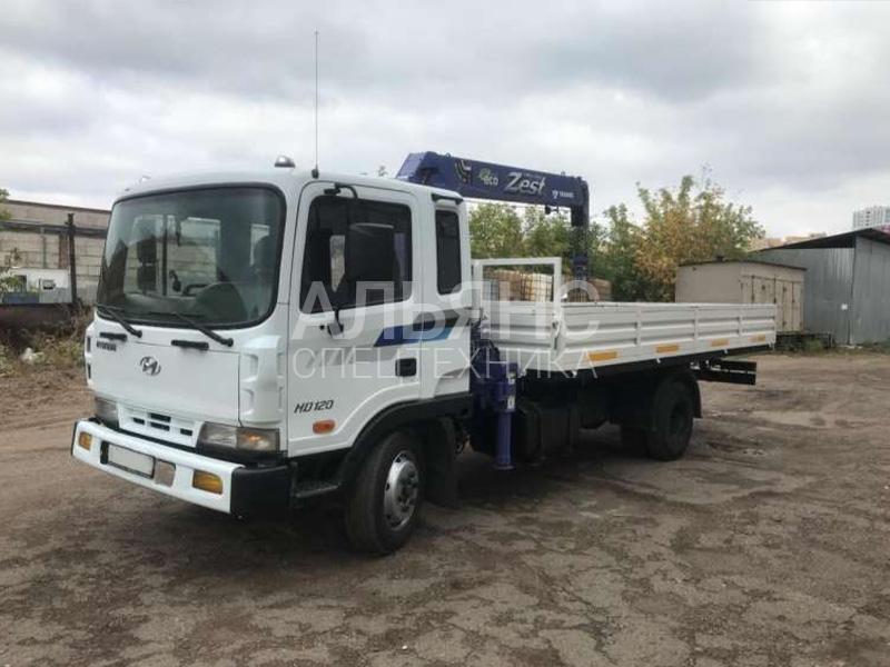 Манипулятор Hyundai HD-120 Cargo Crane 5 тонн