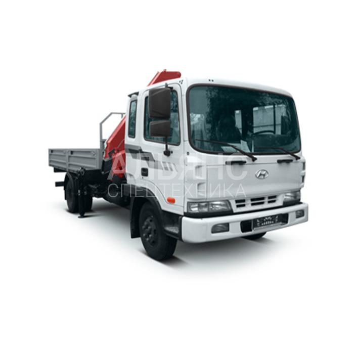 Манипулятор Hyundai HD-120 грузоподъёмностью 7 тонн