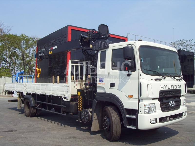 Манипулятор Hyundai Palfinger PK 15500D 5 тонн