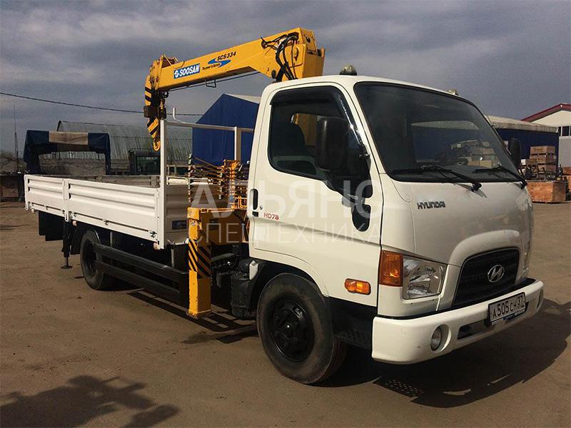 Манипулятор Hyundai Soosan 334 5 тонн