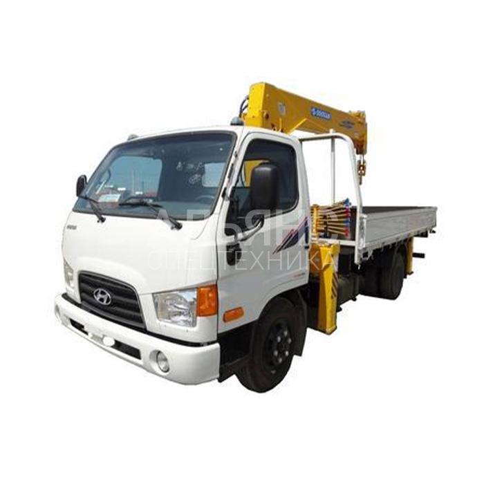 Манипулятор Hyundai Soosan 334 грузоподъёмностью 5 тонн