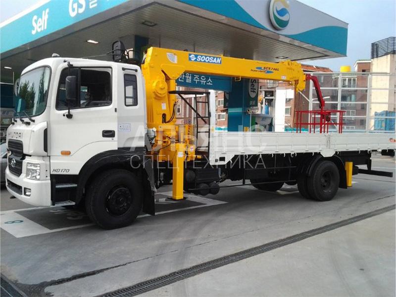Манипулятор Hyundai Soosan 746L 3 тонны