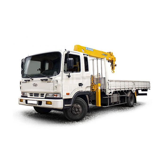 Манипулятор Hyundai Soosan 746L грузоподъёмностью 3 тонны