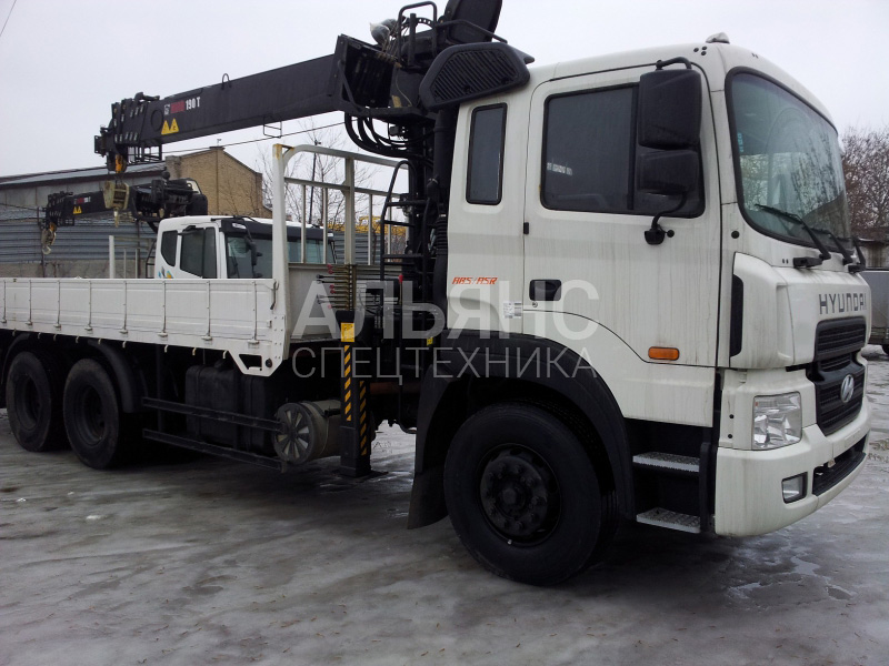 Манипулятор Hyundai Tadano ZE500 150 10 тонн