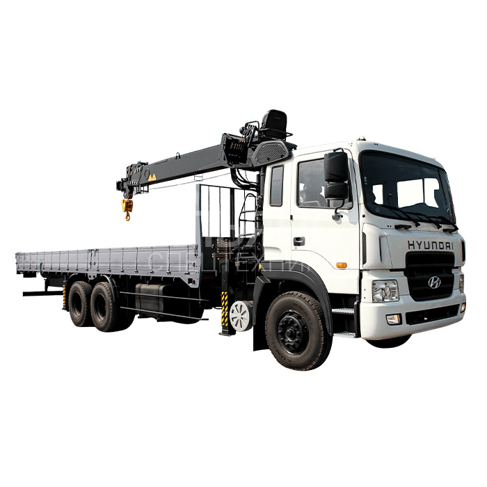 Манипулятор Hyundai Tadano ZE500 150 грузоподъёмностью 10 тонн