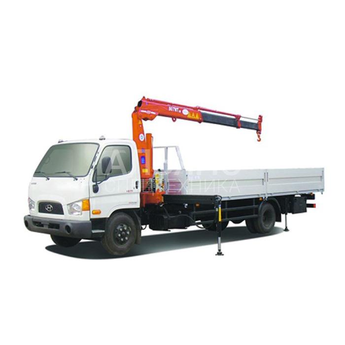 Манипулятор Hyundai Unic 340 581 A2 EX грузоподъёмностью 5 тонн