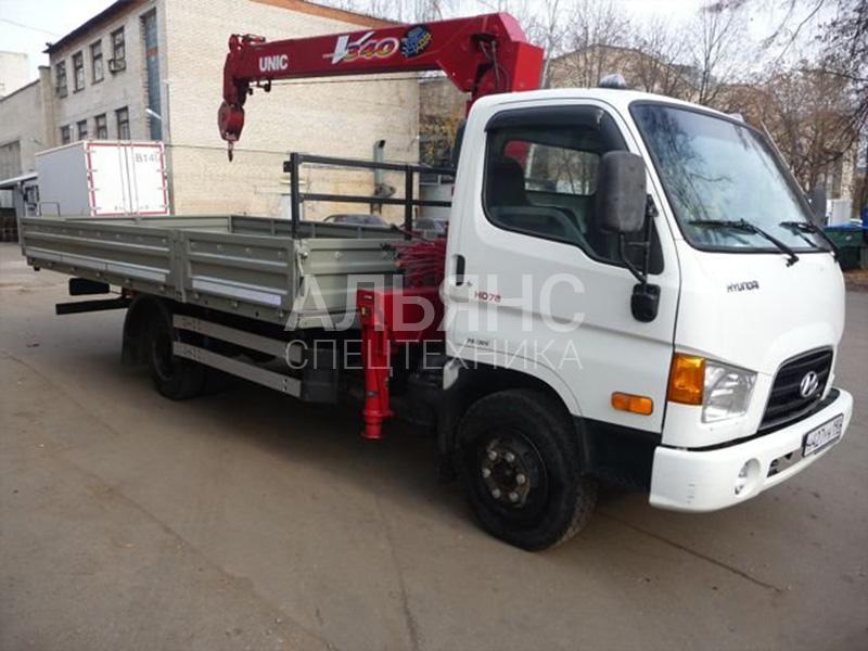 Манипулятор Hyundai Unic V340 5 тонн