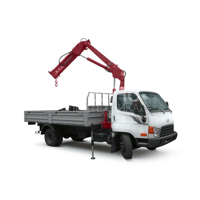 Манипулятор Hyundai Unic V340 грузоподъёмностью 5 тонн