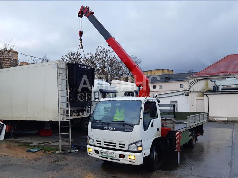 Манипулятор Isuzu Аrcovera 706 5 тонн