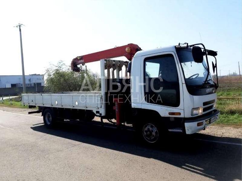 Манипулятор Isuzu Forward UNIC 340 5 тонн
