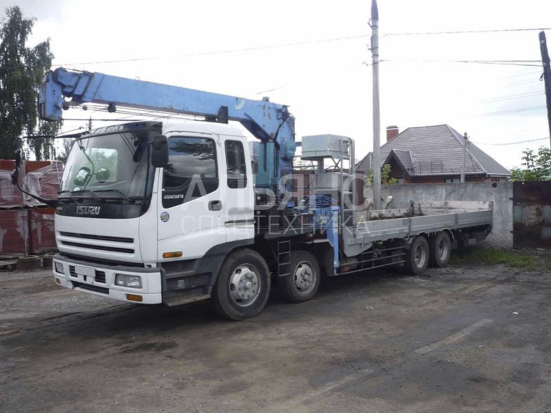 Манипулятор Isuzu Giga 15 тонн