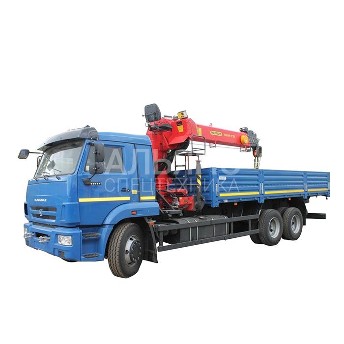 Манипулятор Камаз 4308 вездеход Inman IT150 грузоподъёмностью 7 тонн