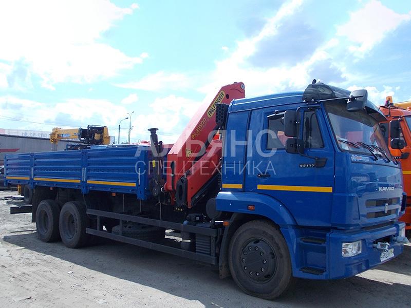 Манипулятор Камаз 65117 10 тонн