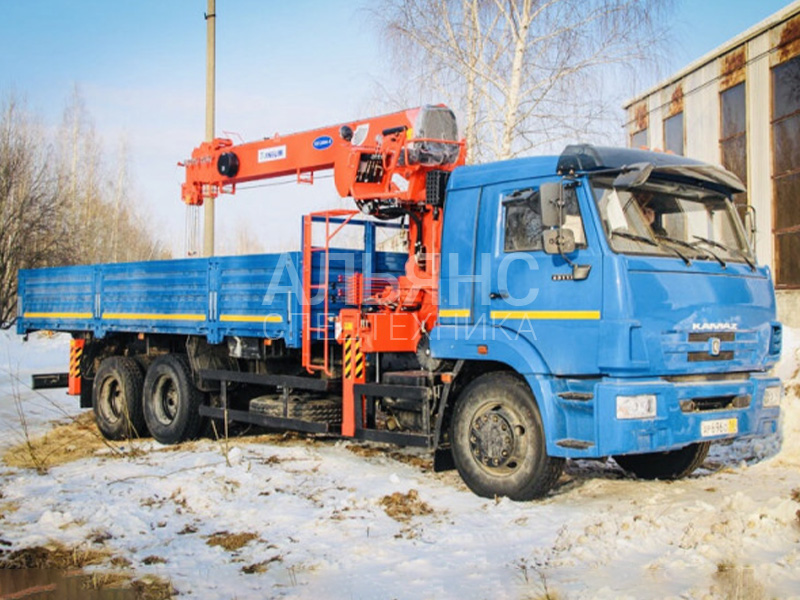 Манипулятор Камаз 65117 Kanglim 10 тонн