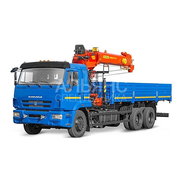 Манипулятор Камаз 65117 Kanglim грузоподъёмностью 10 тонн