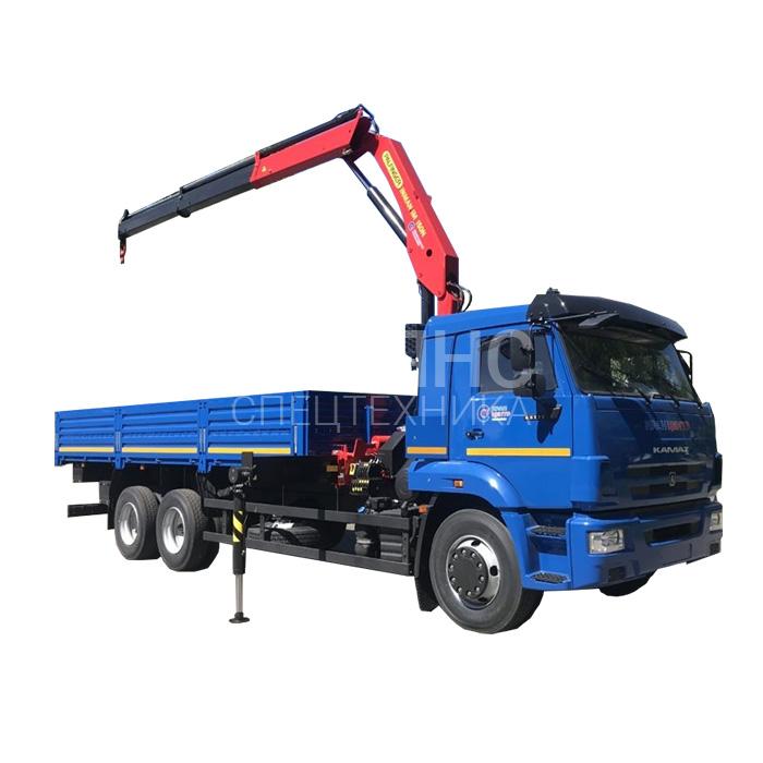 Манипулятор Камаз 65117 грузоподъёмностью 10 тонн