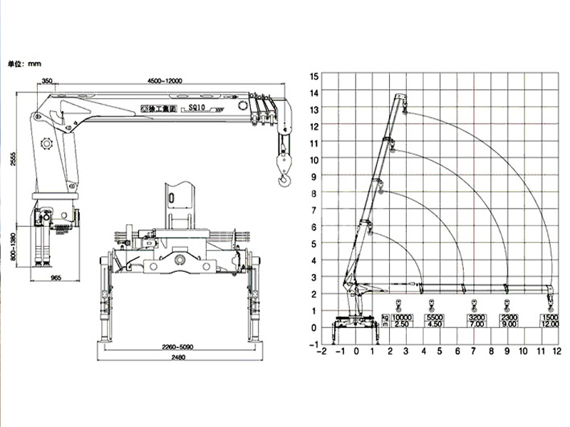 Манипулятор Камаз DINTEC LS1256 10 тонн