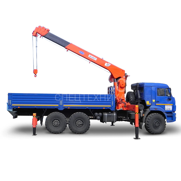 Манипулятор Камаз DINTEC LS1256 грузоподъёмностью 10 тонн