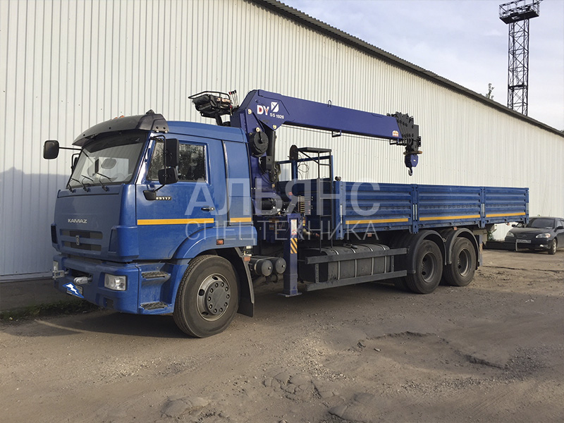 Манипулятор Камаз DY S5 10112 10 тонн