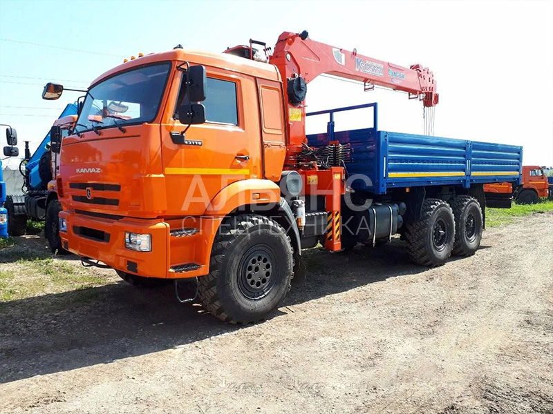 Манипулятор Камаз KS1256G2 вездеход 10 тонн