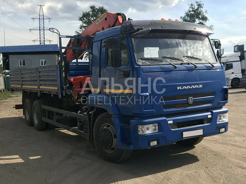 Манипулятор Камаз Palfinger Crane 10 тонн