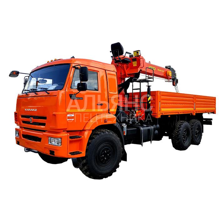 Манипулятор Камаз SOOSAN 736 вездеход грузоподъёмностью 10 тонн