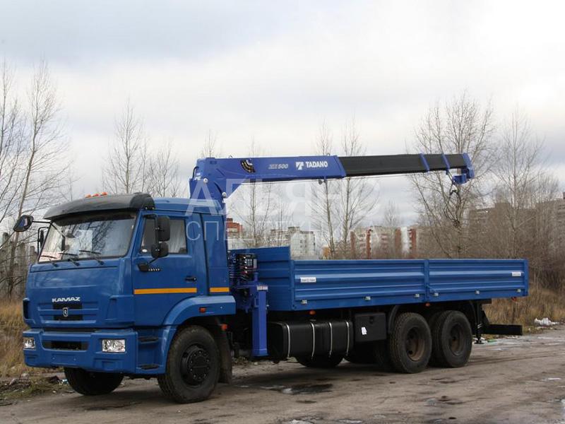 Манипулятор Камаз Tadano ZE500 10 тонн
