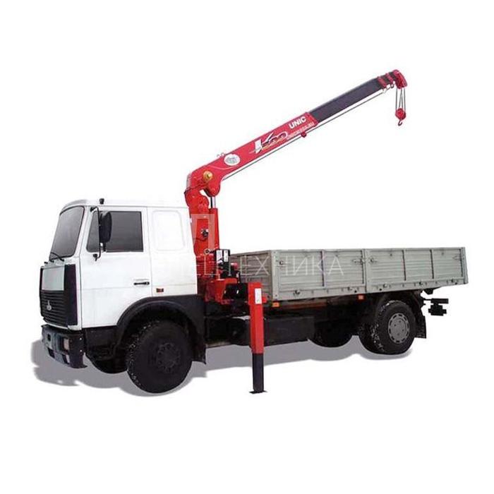 Манипулятор МАЗ SCS335 грузоподъёмностью 3 тонны