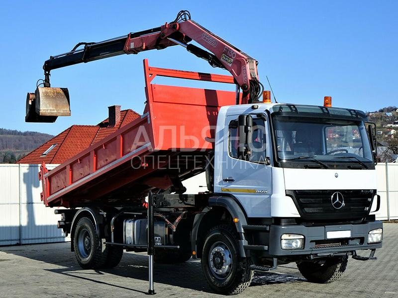 Манипулятор Mercedes-Benz Fass F110 8 тонн