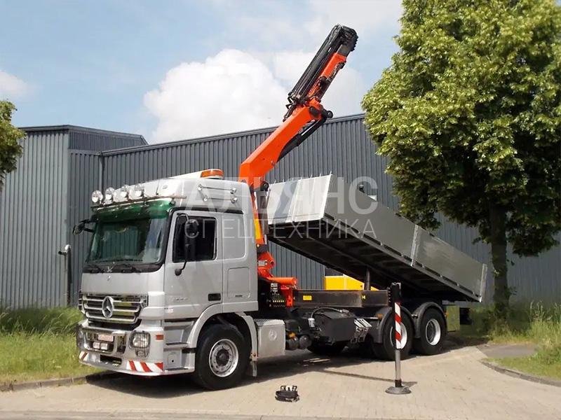 Манипулятор Mercedes-Benz KC-KF419TZ Disel 15 тонн