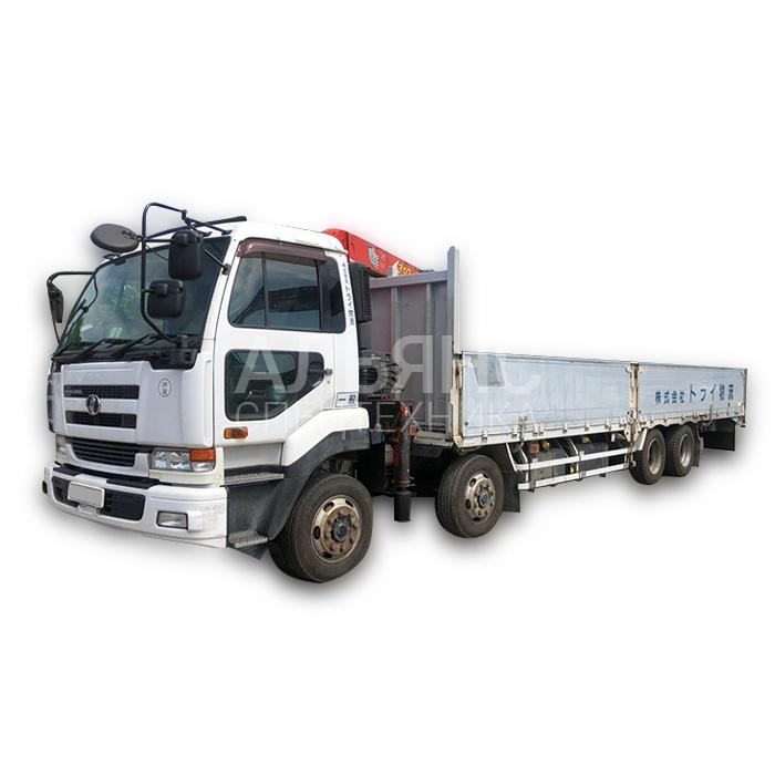 Манипулятор Nissan Disel грузоподъёмностью 15 тонн