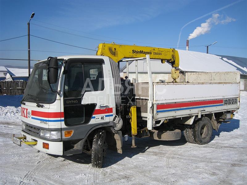 Манипулятор Toyota Duna 3 тонны