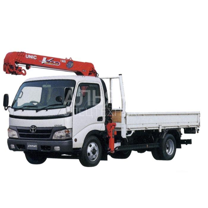 Манипулятор Toyota Duna грузоподъёмностью 3 тонны